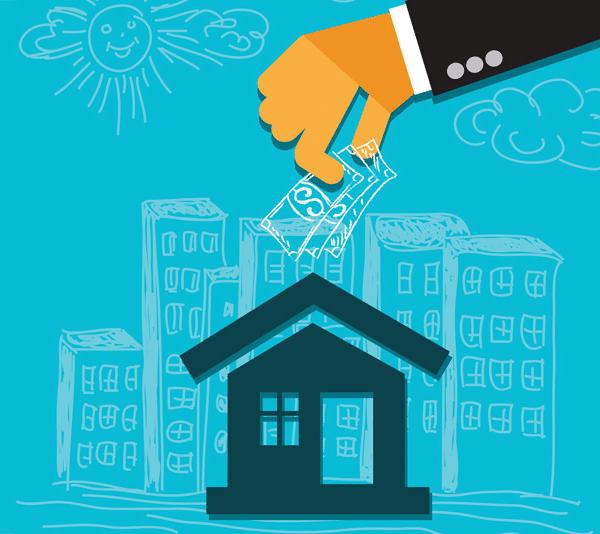 Illustration of real estate investment